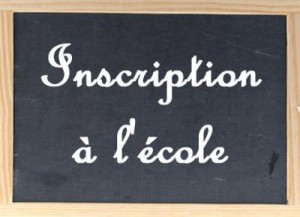 inscription-ecole